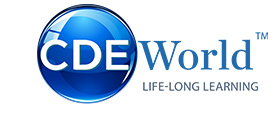 CDEWorld Continuing Dental Education Logo
