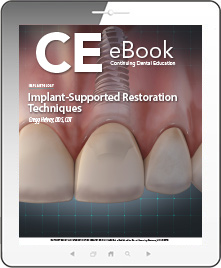 Implant-Supported Restoration Techniques eBook Thumbnail