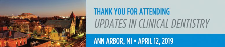 Updates in Clinical Dentistry - Ann Arbor, MI Event Image