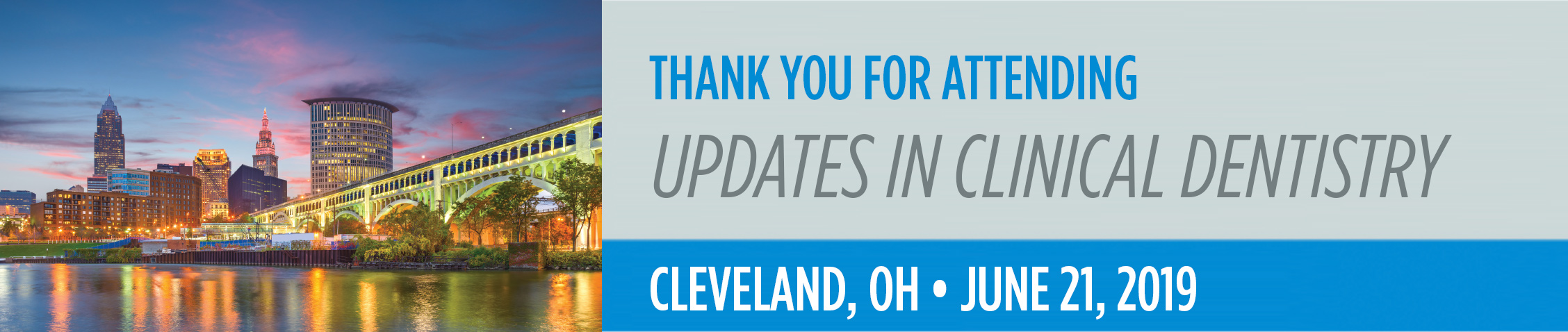 Updates in Clinical Dentistry - Cleveland, OH Event Image