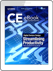 Ebook Digital Denture Design Streamlining Productivity