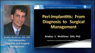 Peri-Implantitis: From Diagnosis to Surgical Management Webinar Thumbnail