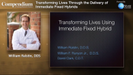 Transforming Lives Through Delivery of Immediate Fixed Hybrids Webinar Thumbnail