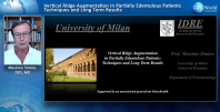 Vertical Ridge Augmentation in Partially Edentulous Patients: Techniques and Long-Term Results Webinar Thumbnail