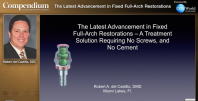 The Latest Advancement in Fixed Full-Arch Restorations Webinar Thumbnail