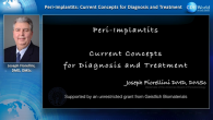 Peri-Implantitis: Current Concepts for Diagnosis and Treatment Webinar Thumbnail