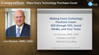 Make Every Technology Purchase Count: Maximize your ROI through SEO, Social Media, and your Team Webinar Thumbnail