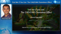 Find Me if You Can: The CAD/CAM Chameleon Effect Webinar Thumbnail