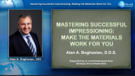 Mastering Successful Impressioning: Make the Materials Work for You Webinar Thumbnail