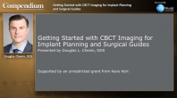 Getting started with CBCT Imaging for Implant Planning and Surgical Guides Webinar Thumbnail