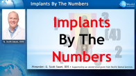 Implants by the Numbers Webinar Thumbnail