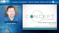 Concept to Complete: Interior Design Advice and Tips Webinar Thumbnail