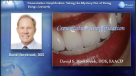 Cementation Simplification:  Taking the Mystery Out of Doing Things Correctly Webinar Thumbnail