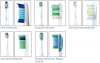 Figure 7. Examples of Sonic Power Toothbrush Brush Heads.