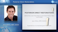 Posterior Direct Restorations: Simplifying our Treatments for More Predictable Outcomes Webinar Thumbnail