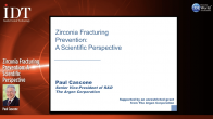 Zirconia Fracturing Prevention: A Scientific Perspective Webinar Thumbnail