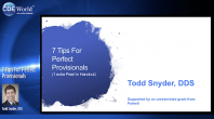 7 Tips For Perfect Provisionals Webinar Thumbnail