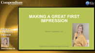 Making an Excellent First Impression Webinar Thumbnail