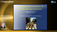 Managing Dental Conditions of the Baby Boomer Generation Webinar Thumbnail