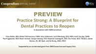 Practice Strong: A Blueprint for Dental Practices to Reopen Webinar Thumbnail
