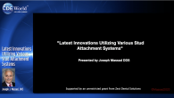 Latest Innovations Utilizing Various Stud Attachment Systems Webinar Thumbnail