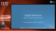 Digital Dentures: Options, Workflows and Esthetic Outcomes Webinar Thumbnail
